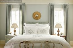 Top 100 Benjamin Moore Paint Colors (great resource w/ photos of rooms).