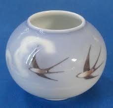 Royal Copenhagen Thorkild Olsen Swallow Vase