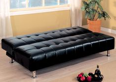 Cheap Futon Bed Sofa Ideal For Room Or Living With A Metal Frame