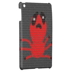 Red Spider Brown  Wall Painting, Art by Kids :) iPad Mini Case
