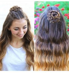 wedding hairstyles easy hairstyles hairstyles for school hairstyles diy hairstyles for round faces p Cute Hairstyles For School, Graduation Hairstyles, Cute Girls Hairstyles, Trendy Hairstyles, Picture Day Hairstyles, Braided Homecoming Hairstyles, Semi Formal Hairstyles, Medium Hair Styles, Curly Hair Styles