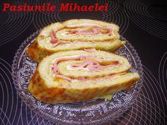 Pasiunile Mihaelei: Rulada cu omleta, cartofi si sunca