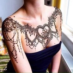 tatttoo idea for shoulder #tattoos #tattooartist #womensfashion #mehndi  follow me at Healthnfitnessworld.com for womens health related best new articles