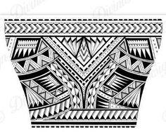 Polynesian Compass Rose Quarter Sleeve Tattoo Wrap Around Band Tattoo Designs, Polynesian Tattoo Designs, Maori Tattoo Designs, Tribal Shoulder Tattoos, Tribal Arm Tattoos, Maori Tattoo Arm, Arm Band Tattoo, Thai Tattoo, Sternum Tattoo