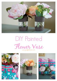 DIY Painted Flower V