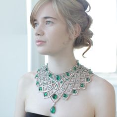 The Romanov necklace created by Fabergé in 2013, which, in the spirit of past Fabergé jewels, is convertible and can be worn in three different ways. The new film with vintage, antique and modern Fabergé jewels and eggs: http://www.thejewelleryeditor.com/jewellery/article/faberge-a-life-of-its-own-film-review/ #jewelry