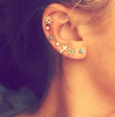 ear piercing so cuteeee but a little much for me ;)