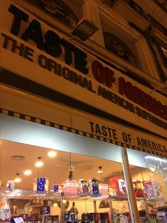 Zaz - Taste of America store, where you can find all things American!