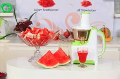 Water Melon Juice from JR #SlowJuicer #MoreMall #HomeShopping #Indonesia www.moremall.tv