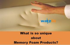 It is like Sand : Memory foam products tend to mold to your body shape in response to pressure and then return to their original shape once the pressure is removed.