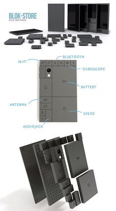 Geek Unveils Phonebloks, a LEGO-inspired Smartphone You Build Yourself - TechEBlog