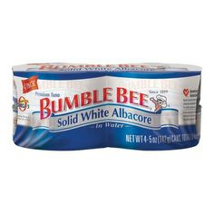 I'm learning all about Bumble Bee 4-pk. Solid White Albacore Tuna in Water 5-oz. at @Influenster!