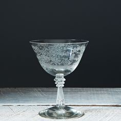 Vintage Champagne or Sherbet Glass on Food52: http://food52.com/provisions/products/902-vintage-champagne-or-sherbet-glass #Food52