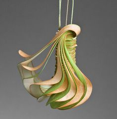 Jewellery Sculptures Paper Art by Lydia  Hirte