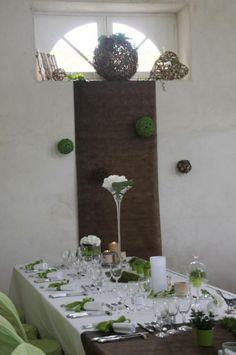 décoration de mariage nature vases haut more de mariage decoration 3