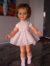 TRES BELLE Ancienne poupée  BELLA  40 cm SUPERBE robe  d origine griffée BELLA