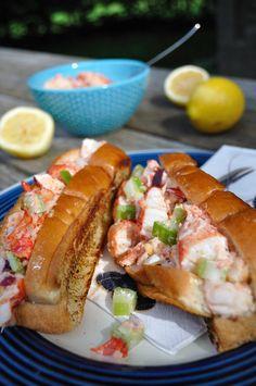 Grilled Nova Scotia Lobster Rolls - Food Gypsy