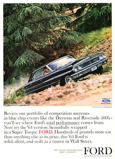 1964 Ford Falcon - Beautifully wrapped in a Super Torque Ford - Original Ad