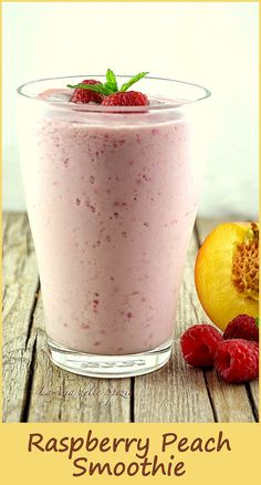 Simple and light Ingredients 1 cup sliced peaches 1/2 cup raspberries 1 cup yogurt 2 tsp honey ice cubes orange juice (additional) Preparation: Combine all ingredients in a blender, blend until smooth. Garnish and enjoy. image source: http://www.viadellespezie.it/wordpress/?cat=18 Related posts: Raspberry Mango Smoothie Blueberry Banana Smoothie Kiwi Apple Smoothie Berry Smoothie Pineapple Papaya Smoothie