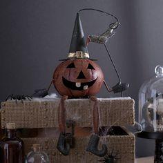 Halloween Jack O' Lantern Shelf Sitter | Kirklands