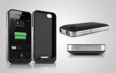 Get double the power with a Mophie Juice Pack Air iPhone 4/4S external battery case for half the price - pay $45 for this $90 value.