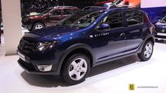 2016 Dacia Sandero Stepway  Exterior and Interior Walkaround  2016 Genev...