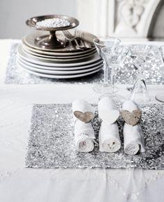 Lovely Christmas Table Setting Ideas...
