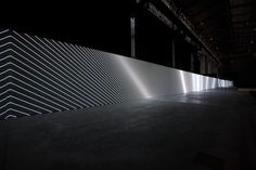 6 | A 130-Foot Display For Mesmerizing Monochrome Abstractions | Co.Design | business + design