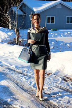 #maturefashion work outfit at the Top of the World Style #linkup party @http://www.highlatitudestyle.com