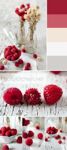 Raspberries 'n Cream Eye Candy   by Photo Kitchen