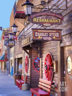 Main Street, Deadwood, South Dakota - this was kind of a fun place to see