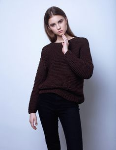 sweater but in dusty pink