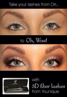 3D Fiber Lash Mascara - only $29 & all natural  https://www.youniqueproducts.com/michellethompson/party/182935/view