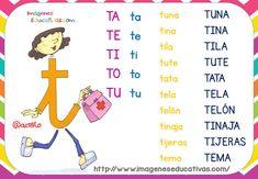 Fichas de lectura LETRILANDIA (3) - Imagenes Educativas Spanish Language Learning, Teaching Spanish, Ludo, Cognates, Spanish Worksheets, Dora, Spanish Culture, Bilingual Education, Math For Kids