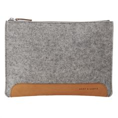Andie pouch grey | Graf & Lantz.... I have this clutch & absolutely love it!!!