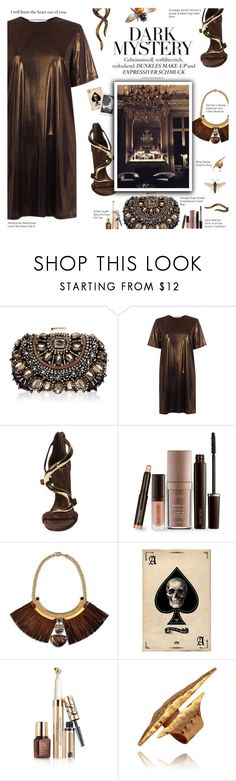 """""""Marry The Night"""" by r-maggie ❤ liked on Polyvore featuring Lipsy, Warehouse, Giuseppe Zanotti, Laura Mercier, Natalie Waldman and Estée Lauder"""