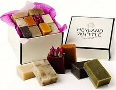 Luxury Soap Gift Box from Heyland and Whittle