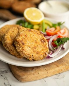 Crispy on the outside & smooth on the inside, these Tuna Fish Cakes are the perfect way to use up some cupboard staples for an easy and delicious lunch! Easy Tuna Recipes, Bbc Good Food Recipes, Seafood Recipes, Cooking Recipes, Appetizer Recipes, Catfish Recipes, Easy Meals, Savoury Recipes, Healthy Recipes