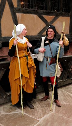 Pilgrims. Gallery | Company of Saynt George. This might make an excellent schtick for new performers.