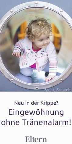 Wie die Eingewöhnung in der Kinderkrippe für Kind und Eltern gut klappt, erklärt eine erfahrene Krippen-Psychologin im Interview.  #kinderkrippe #kinderbetreuung #baby #eingewoehnung #ersterabschied