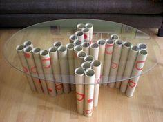 7 maravillas con tubos de cartón: cómo crear cosas bonitas