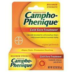 Cold Sores: Campho-Phenique Cold Sore Treatment Original Gel Formula 0.23 Oz (Pack Of 8) -> BUY IT NOW ONLY: $35.51 on eBay!