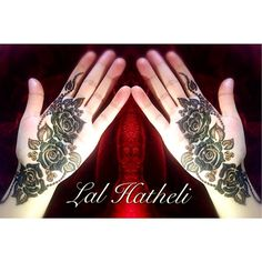 Gulf henna roses by Lal Hatheli