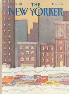 The New Yorker - Monday, December 13, 1982 - Issue # 3017 - Vol. 58 - N° 43 - Cover by : Lonni Sue Johnson