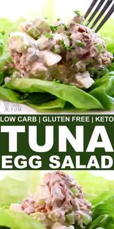 An easy tuna egg salad with sour cream is hard to beat. Find out how to make the best keto tuna salad recipe for low carb sandwich wraps. // tuna salad easy // healthy tuna recipes // food with low carbs // recipes keto // keto recipes lchf // Tuna Egg Salad, Easy Tuna Salad, Keto Tuna Salad, Best Tuna Salad Recipe, Tuna Salad Recipe With Sour Cream, Avocado Salad, Healthy Tuna Recipes, Tuna Fish Recipes, Healthy Salad Recipes