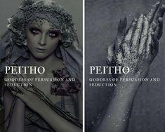 """greek mythology → peitho """"greek goddess of persuasion and seduction """" Greek Mythology Tattoos, Greek Gods And Goddesses, Greek And Roman Mythology, Greek Goddess Tattoo, Goddess Names, Fantasy Names, Fantasy Art, Roman Gods, Religion"""