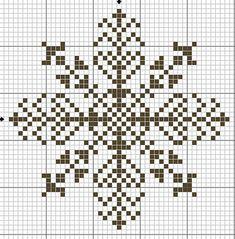 Схемы новогодних снежинок для вышивки крестом / Мастер-класс