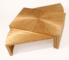 J. M. Frank Inspired Coffee Table in Straw Marquetry Each piece of wheat, rye or oat straw is opened, flattened and dyed by hand. Then its clean, iridescent patterns are inlaid on boxes, small furniture, or walls.
