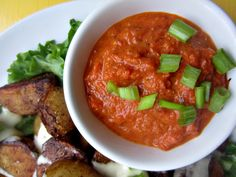patatas bravas with red sauce and garlic aioli by club narwhal – guest post!