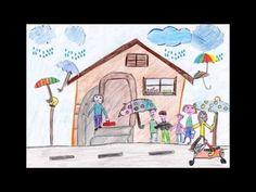 Greenbus. Primi passi nella mobilità. I disegni dei bambini della scuola primaria Anna Frank (Villa Potenza)
